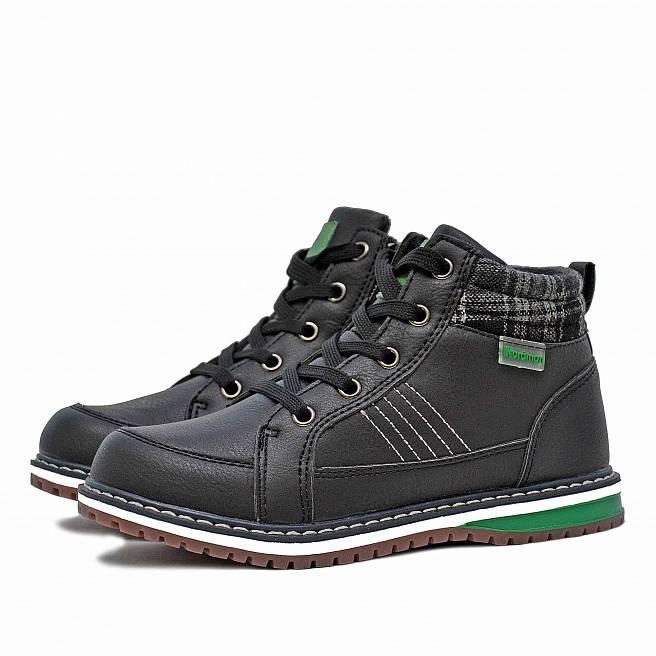 Детские демисезонные ботинки Nordman Go на шнуровке