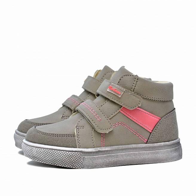 Детские демисезонные ботинки Nordman Go на липучке