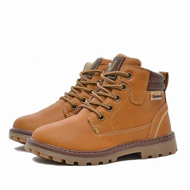 Детские демисезонные ботинки Nordman Go из экокожи