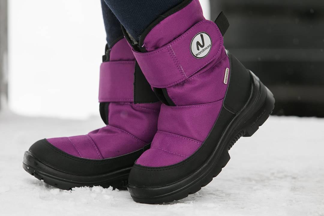 Детские зимние ботинки Nordman Next