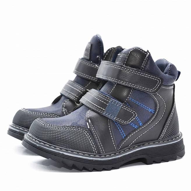 Ботинки зимние Nordman Go темно-синие